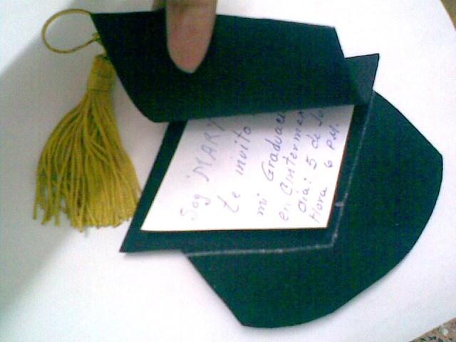 Más Regia que el Cabrito Invitación para Graduación